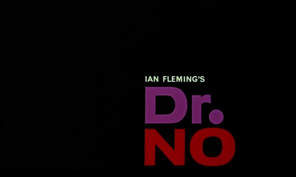 Dr No Title Card