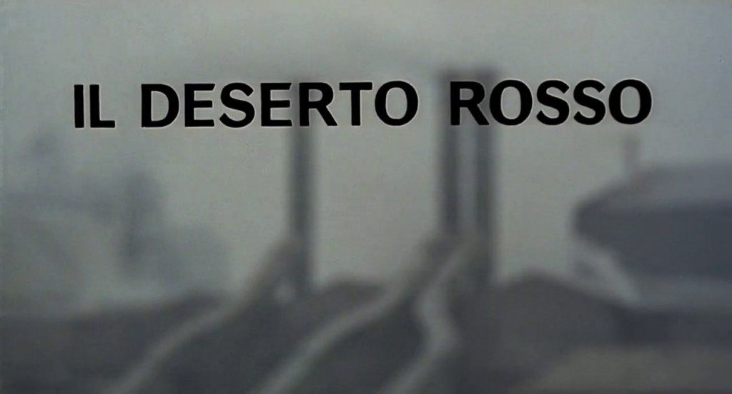 Red Desert (1964) Title Card