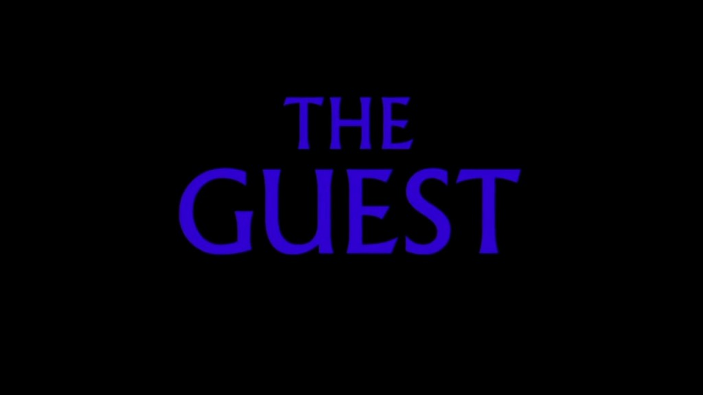 The Guest Title Card