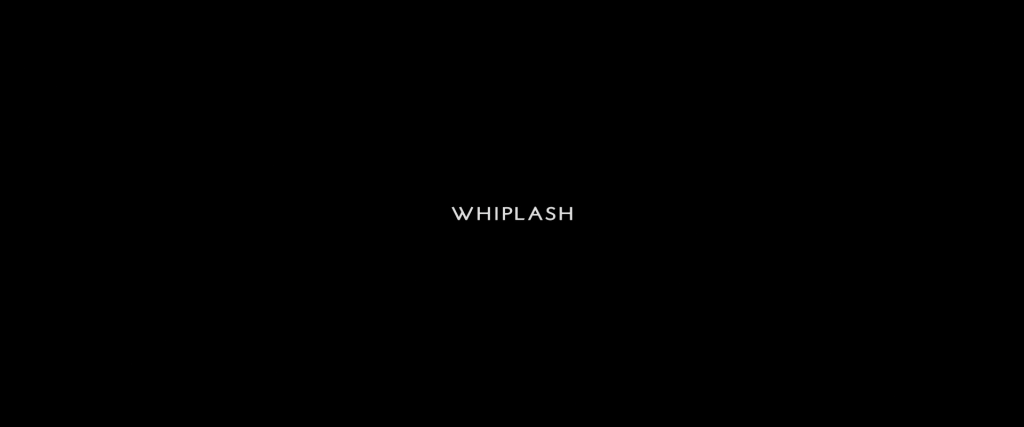 Whiplash Title Card