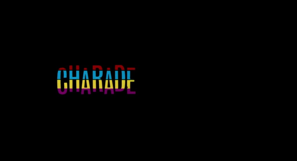 Charade 1963 Title Card