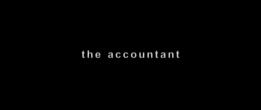 The Accountant Title Card