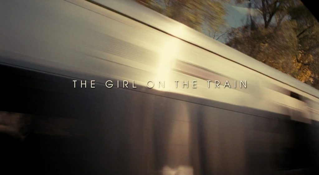 The Girl on the Train Title Card