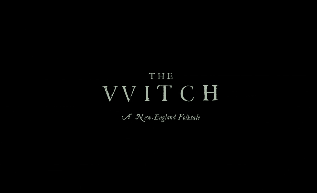 The Witch Title Card