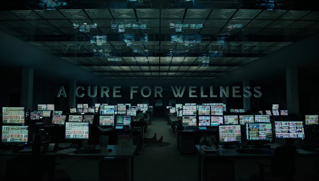 A Cure For Wellness Title Card