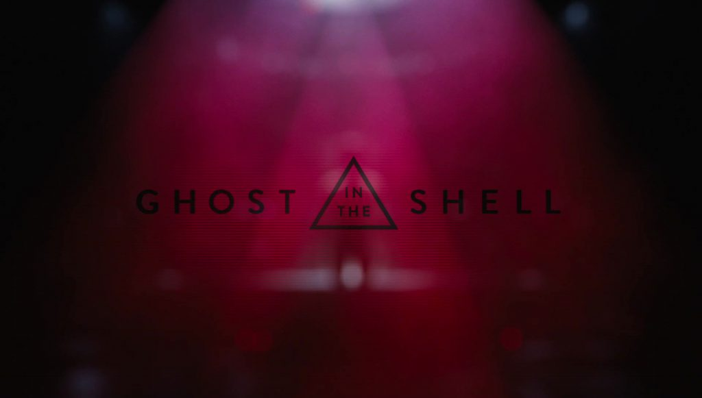 Ghost in the Shell (2017) Title Card