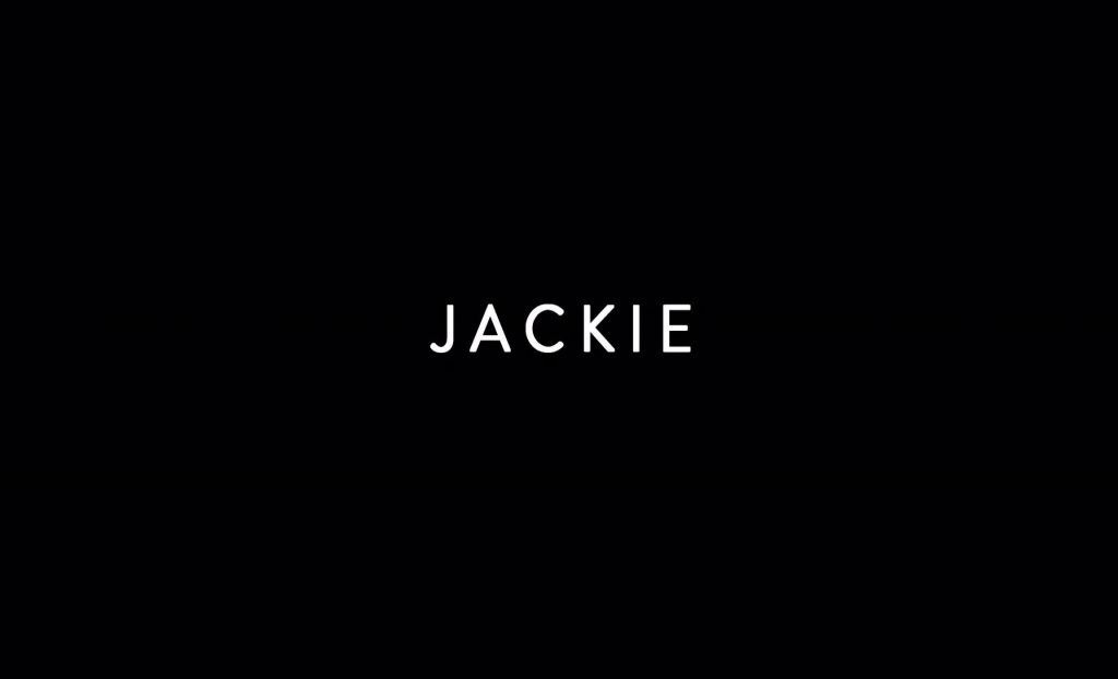 Jackie Title Card