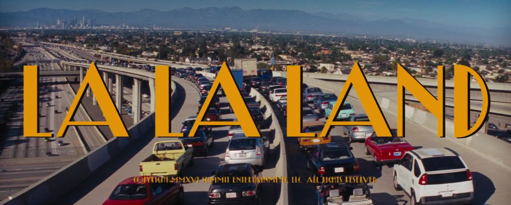 La La Land Title Card