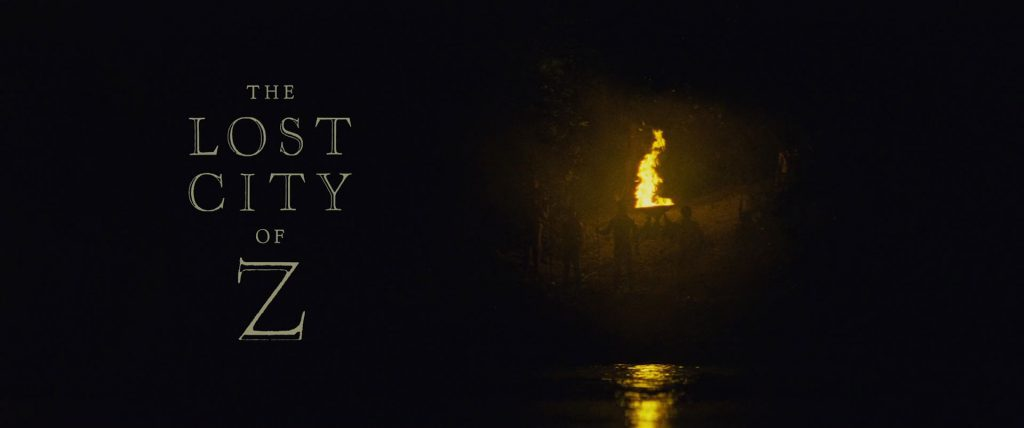 The Lost City of Z Title Card