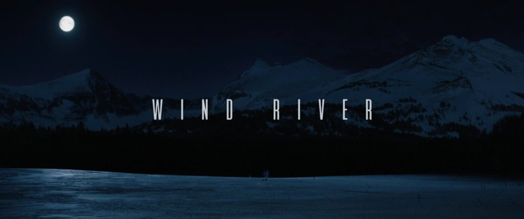 Wind River (2017) Title Card