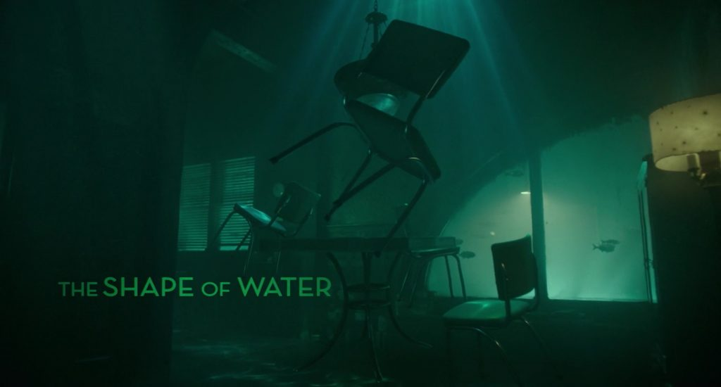 The Shape of Water Title Card