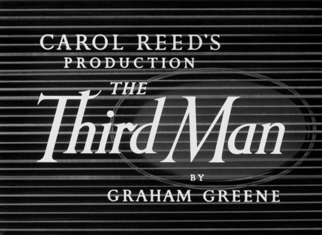The Third Man Movie Title Card