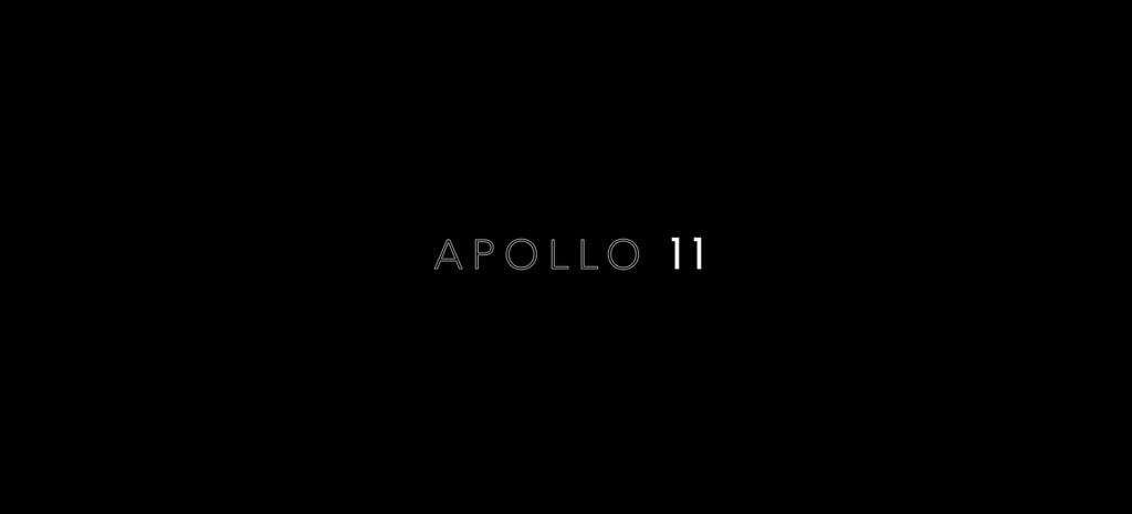 Apollo 11 Documentary Title Card 2019