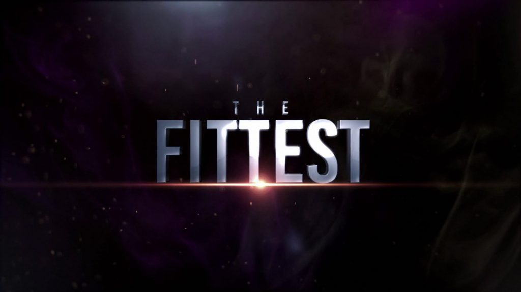 The Fittest Crossfit Movie Title Card
