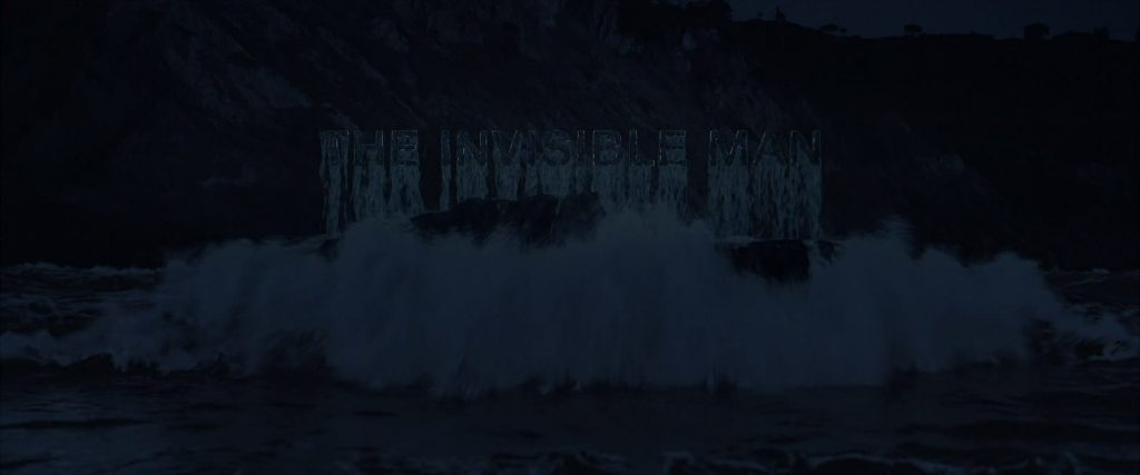 The Invisible Man Movie Title Card