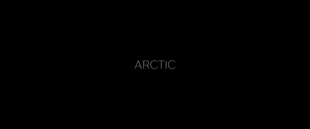 Arctic 2018 Movie Title Card
