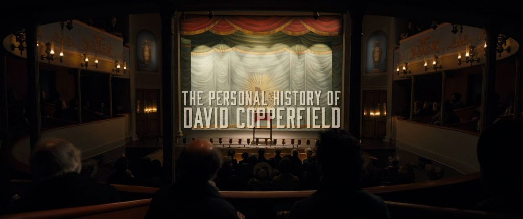 The Personal History of David Copperfield Movie Title Card
