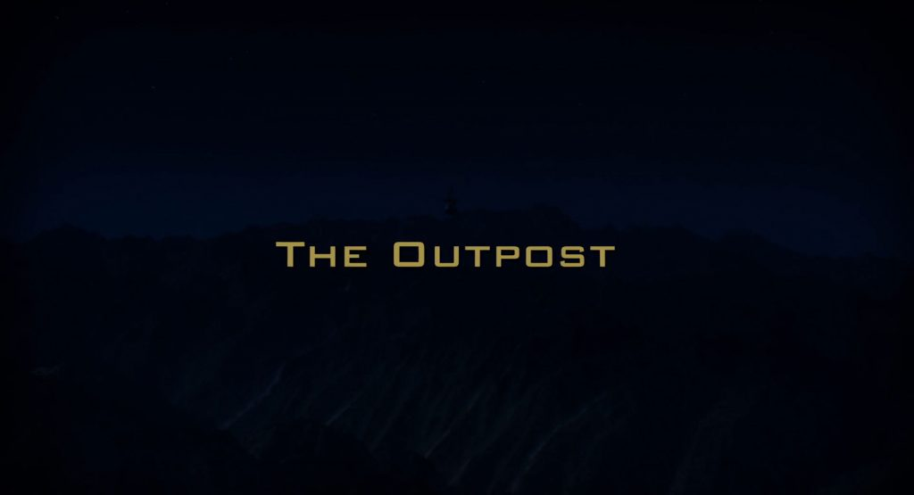 The Outpost 2020 Title Card